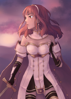 Fire Emblem Echoes: Celica by Orinte