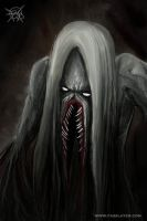 long hair monster by FASSLAYER