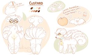 Custard Reference sheet by Sno-berry