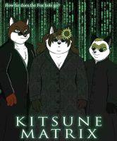 The Kitsune Matrix by PudgeyRedFox