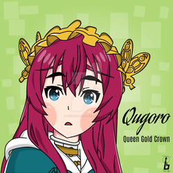 Qugoro - Queen Gold Crown by officialbrap