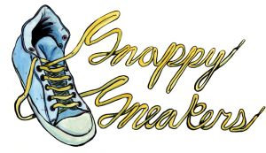 snappy sneakers (editorial illustration) by ungoth