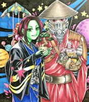 Guardians of the Galaxy: Japanese style by cva1046