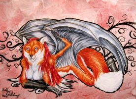Flying Fox by forensicfox