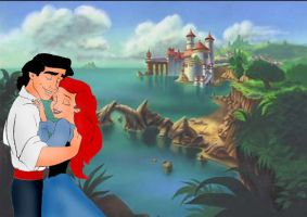 Ariel and Eric love by atomicseasoning
