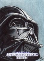Star Wars GF S2 - Darth Vader Sketch Art Card 1 by DenaeFrazierStudios