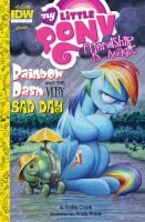 MLP 41 cover: Rainbow Dash and the Very Bad Day by andypriceart
