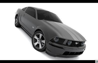 2005 Ford Mustang GT by pleyr