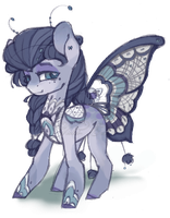 [CLOSED SP] Lace Lavender - Flutteria Adopt #8 by Violet-ERA