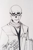 Dr W.D Gaster by Savage-Mojo