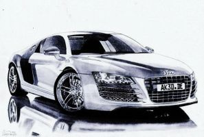 Audi R8 by Exenity