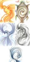 Intuatives: totem elementals by Cinniuint