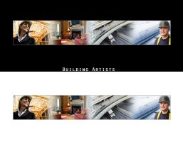 Building Artists - Banner by enigmaticstudio