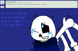 Ask Night Terror Sans #5 by cjc728