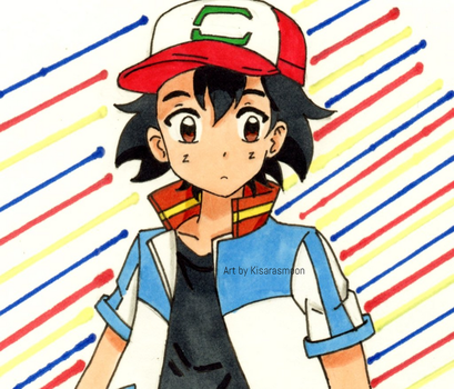 Pokemon Movie 21: Ash Ketchum by Kisarasmoon