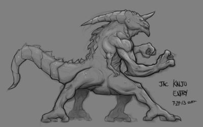 Kaiju concept by Paterack