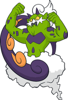 Shiny Tornadus :DreamWorld Art