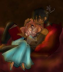 Dg.:Late night cuddles..:. by bleuberry109
