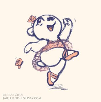 Ballet Bear by LCibos
