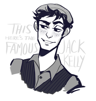 Jack Kelly by CrystallizedTwilight