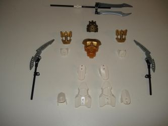 Takanuva Armour and Weapons by andrell