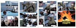 Hellboy Sequential Cold Night by HectorRubilar