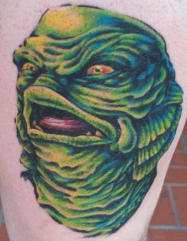 creature from the black lagoon by tattoos-by-zip