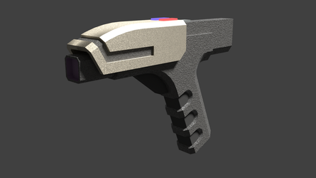 Landus Arms Corp. B-Type Phased Energy Pistol by Terranimperial