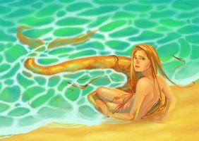 The Little Mermaid by mialyra