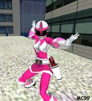The Pink Ranger by The-Mind-Controller