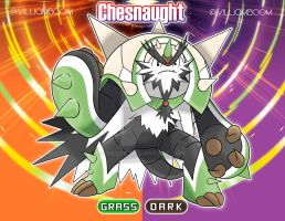 Alolan Chesnaught! by villi-c
