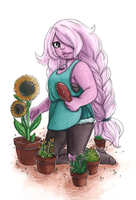 Gardener Amethyst by EaChronicles