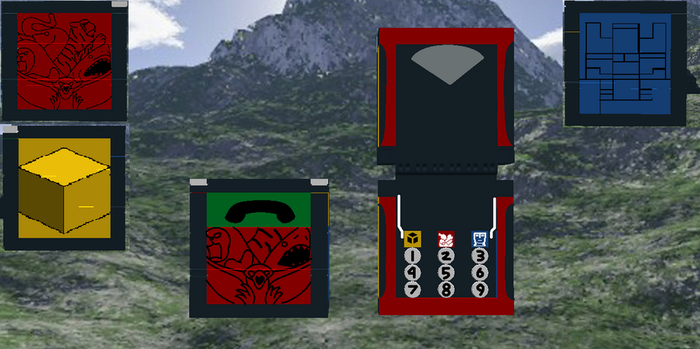 Lego Zyuoh Changer (aka The King's Credential) by SuperSentaiHedgehog