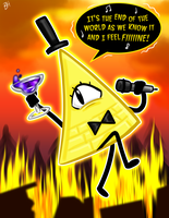 Bill Cipher Feels Fine by BeckHop