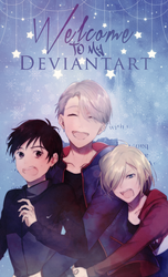 DeviantID#2 ~ Yuri!!! On Ice by StelaScarlett