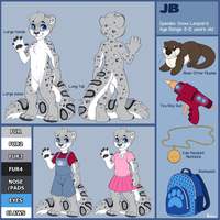 JB Reference Sheet - Commission by sbneko