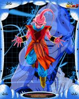 DBZ Kid Buu Absorbed Kibito Kai by cdzdbzGOKU