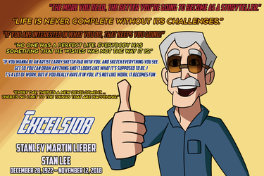 Stan Lee's Quotes by Percyfan94