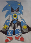 My version of Metal Sonic by skrallhunter