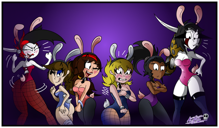 Old Haven Bunnies~ by TheUnusualGoth