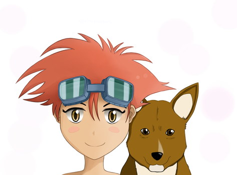 Ed and Ein by Shizoku