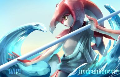 [WIP] Mipha by imDRUNKonTEA