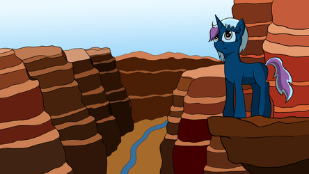 Grand Canyon [commission] by Rainb0wDashie