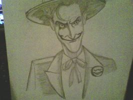 joker drawing by ThomasDrawsStuff
