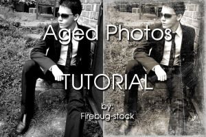 Aged Photo Tutorial by firebug-stock