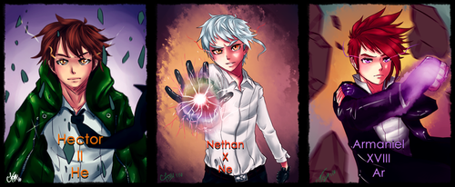 The Noble first three by chromic7sky