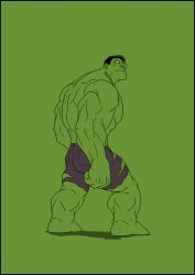 green hulk by Anny-D