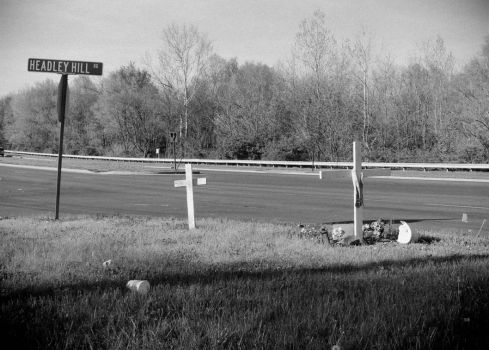 Roadside Memorials: Headley Hill Rd, 2 by aymiah