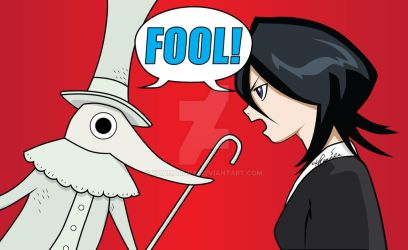 Bleach x Soul Eater: FOOL! by khamarupa