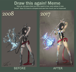 Draw this again 2017 #2 by ImoonArt
